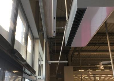 Comptage client au plafond