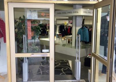 Entrée portique antivol magasin - marque Sensormatic