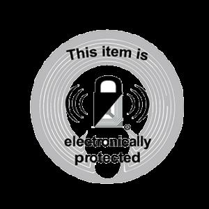 Etiquette antivol Radio-Fréquence (RF)