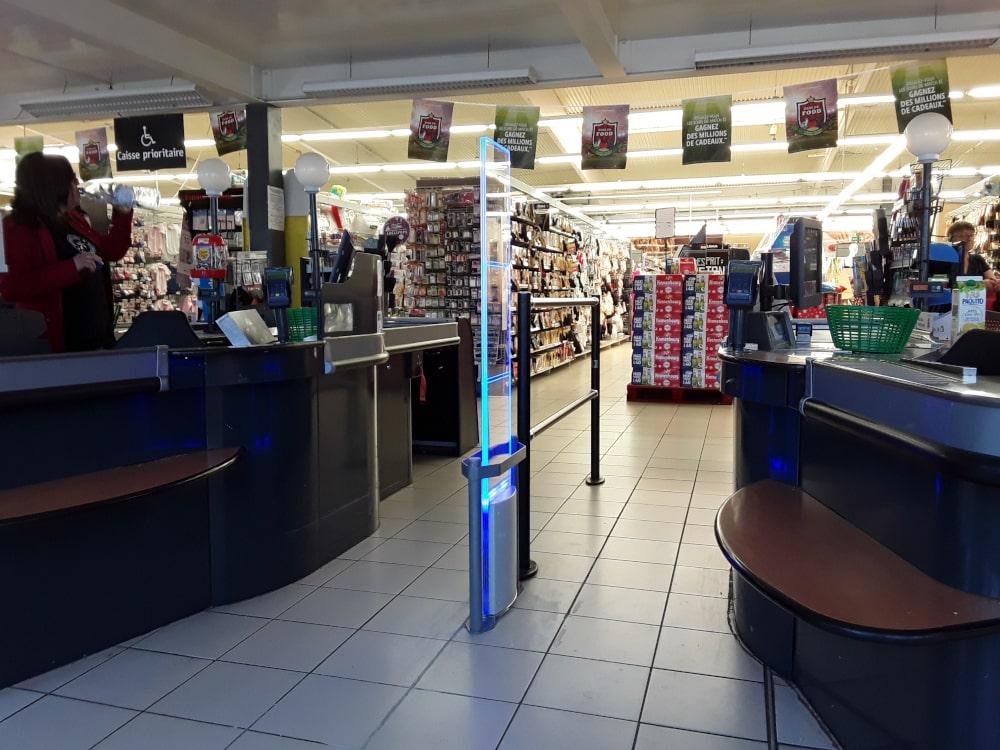 portique antivol magasin checkpoint